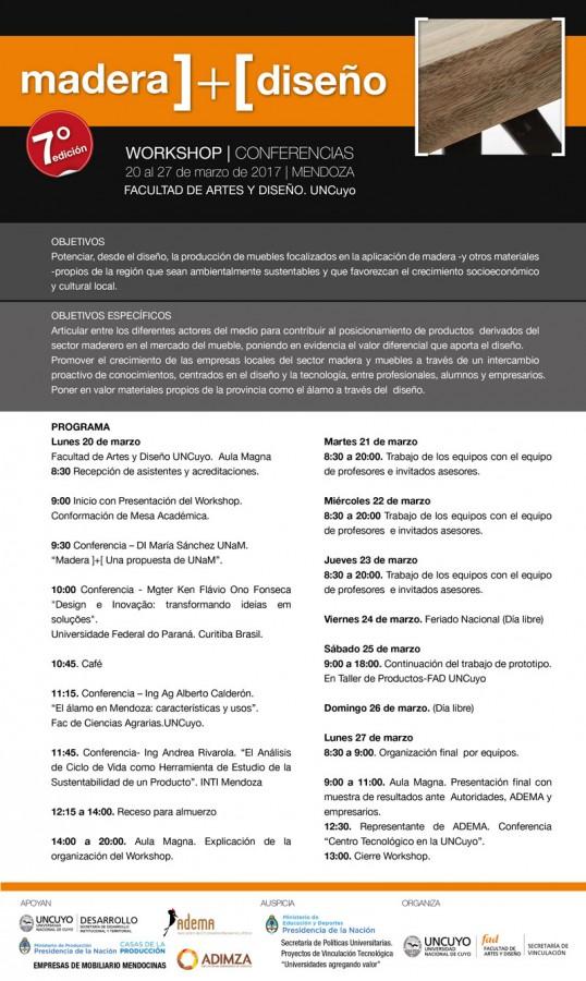 Programa Madera ]+[ 2017 Mendoza