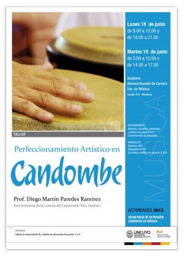 Taller de Perfeccionamiento en Candombe