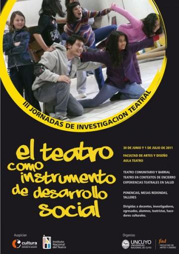 III Jornadas de Investigación Teatral
