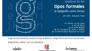 """Presentación del libro """"Tipos formales: la tipografía como forma"""""""