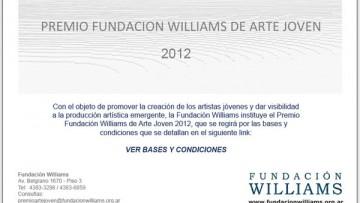 Premio Grabado 2012 - Fundación Williams