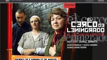 """""""EL CERCO DE LENINGRADO"""" en la Enkosala Gladys Ravalle"""