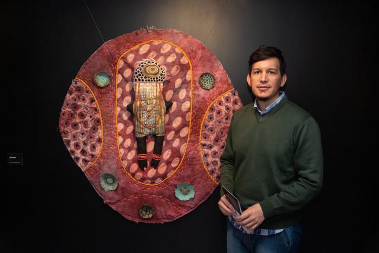 Gustavo Mendoza compartió su arte textil en la FAD