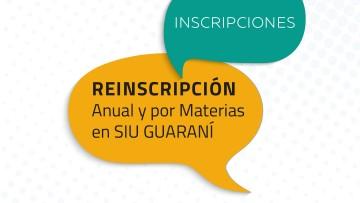 Reinscripción anual 2021 para estudiantes de la FAD.