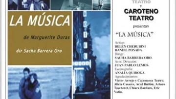 ESTRENO TEATRAL - LA MÚSCIA de Marguerite Duras