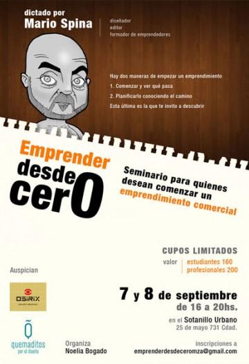 """""""Emprender desde Cero"""" dictado por Mario Spina"""
