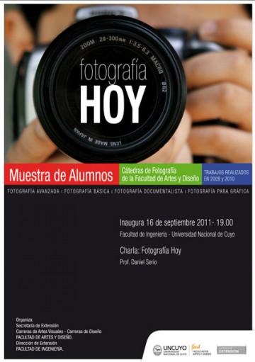 """MUESTRA DE ALUMNOS """"FOTOGRAFÍA HOY"""""""