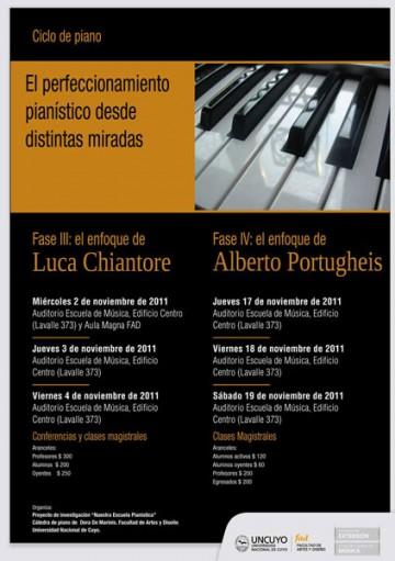 El Perfeccionamiento pianístico desde distintas miradas.