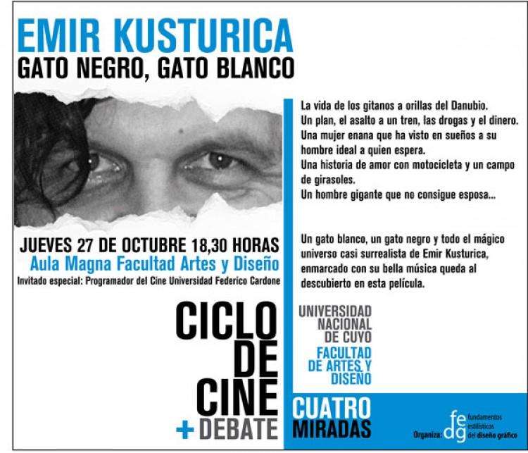 Emir Kusturica en Ciclo de Cine