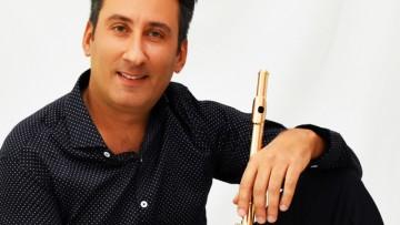 Cristian Garreffa dictará una clase magistral de flauta