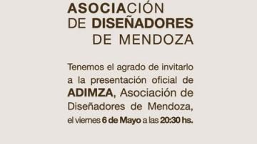 Presentación de ADIMZA Asociación de Diseñadores de Mendoza