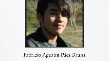 Con enorme tristeza, la FAD despide a Fabricio Agustín Páez Bruna