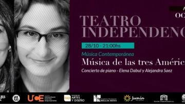 Pianistas docentes de la FAD brindarán un concierto en el Teatro Independencia