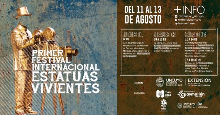 Se realizará el Primer Festival de Estatuas Vivientes