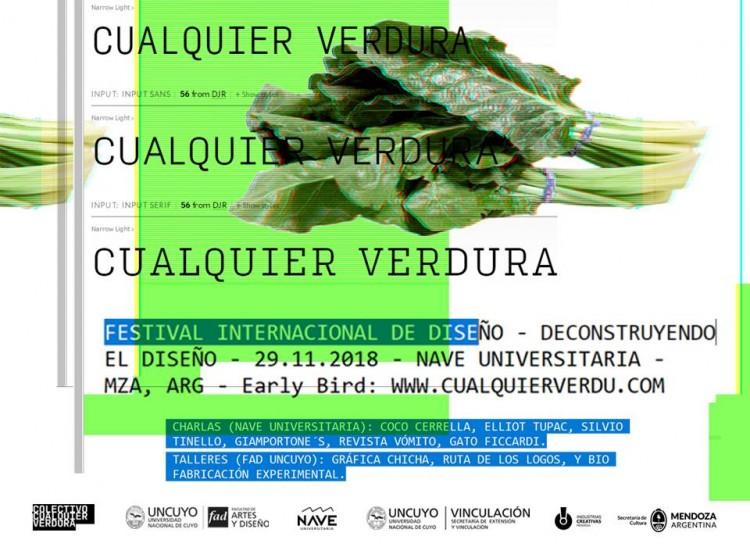 """""""Cualquier Verdura"""" Festival Internacional de Diseño"""