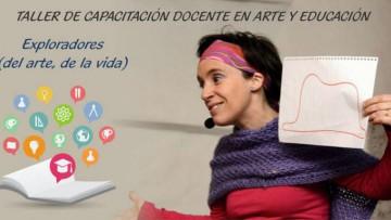 Brindarán un taller de capacitación docente en Arte y Educación