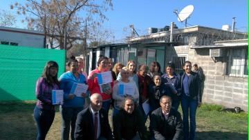 Se entregaron certificados de capacitación laboral en contexto de encierro