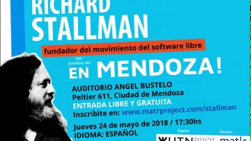 Conferencia de Richard Stallman en Mendoza