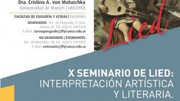 Comienza el X Seminario de Lied: Interpretación Artística y Literaria. De lo excelso a lo satírico