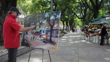Mendoza Pinta 2013, V Encuentro Nacional de Pintores Paisajistas