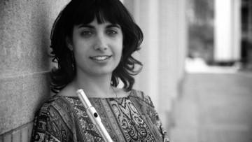 Julieta Blanco dió una clase magistral de Flauta