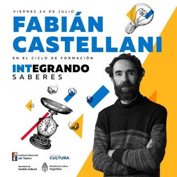 Fabián Castellani disertará en el ciclo INTegrando Saberes