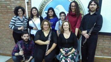 Estudiantes de la cátedra de Oboe asisten a seminario en Tucumán