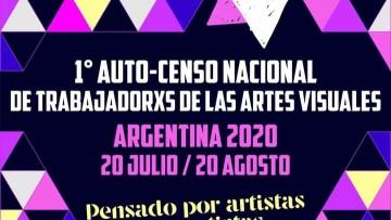 Primer Auto-Censo de Trabajadorxs de las Artes Visuales de Argentina 2020