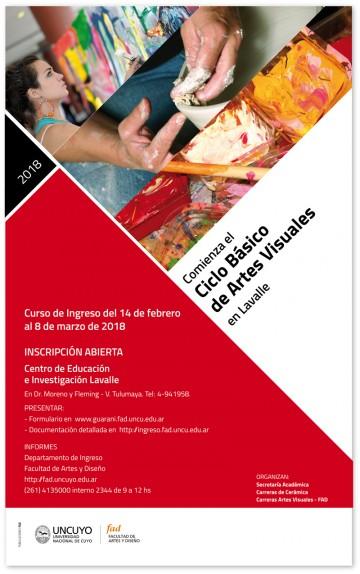 Comienza el Ciclo Básico de Artes Visuales en Lavalle