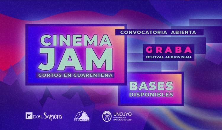 """Animate a participar del concurso de cortos """"Cinema Jam en cuarentena"""""""
