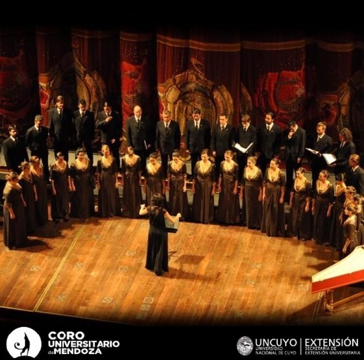 Coro Universitario de Mendoza concursa cargo para jefe de cuerda de bajos