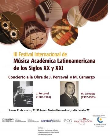 Concierto a la Obra de J. Perceval  y M. Camargo