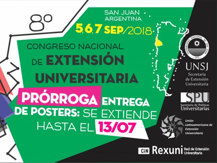 El Congreso Nacional de Extensión Universitaria se realizará en San Juan