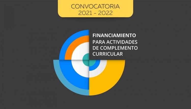 Convocatoria para presentar actividades de complemento curricular 2022