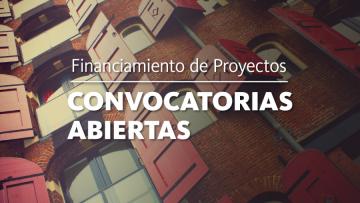Información sobre financiamiento y convocatorias