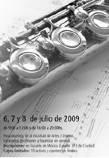 Curso y Concierto de Flauta - Michel Bellavance en Mendoza