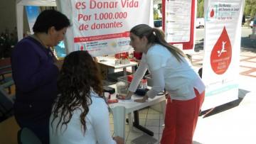 Campaña de donación voluntaria de sangre