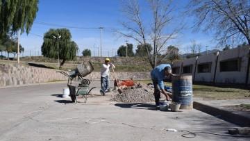 Avanzan los trabajos de accesibilidad para personas con movilidad reducida en los talleres de la FAD