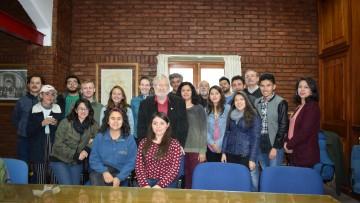 Autoridades de la FAD dieron la bienvenida a estudiantes de Intercambio