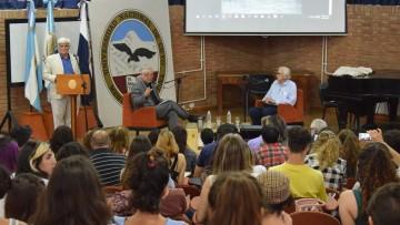 Julio Le Parc conversó sobre su vida y obra en la FAD