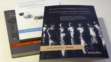 EDIUNC inaugura colección de bolsillo y presenta un libro con obras teatrales de autoras mendocinas