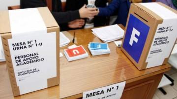 Resultado Elección FAD - UNCUYO 2018