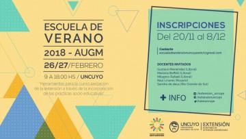 Finaliza la inscripción para la Escuela de Verano 2018 - AUGM