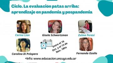 Especialistas argentinas analizan la evaluación en un ciclo de conferencias gratuitas