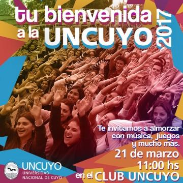 La UNCuyo da la bienvenida a sus nuevos estudiantes