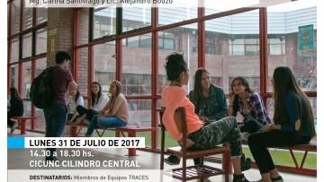 Intercambio de experiencias de acompañamiento a los estudiantes con universitarios uruguayos