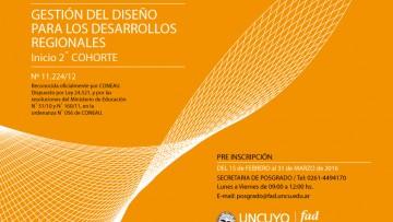Maestría en Gestión del Diseño para los Desarrollos Regionales