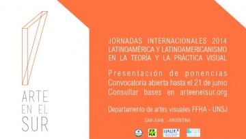 """Jornadas Internacionales """"Arte en el Sur"""" en la UNSJ"""