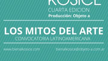 Comenzó la convocatoria a la IV Bienal Kosice, concurso de Arte, Ciencia y Tecnología