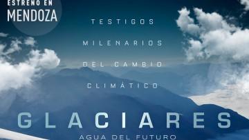 """Debate y estreno del documental """"Glaciares: agua del futuro"""""""